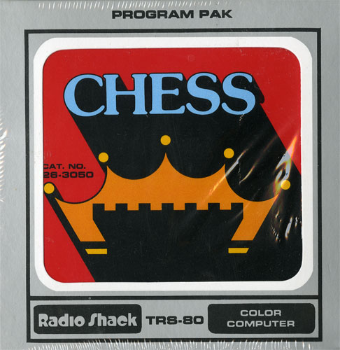 Chess cartridge for the Radio Shack Color Computer
