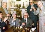 Chess legends meet at the Manhattan Chess Club