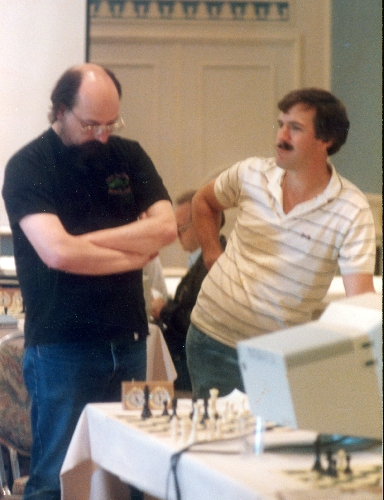 Thompson and Kittinger at 6th World Computer Chess Championship in Edmonton, Alberta