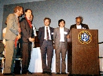 Deep Blue Team receiving Fredkin prize