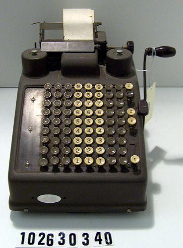 burroughs adding machine type 3
