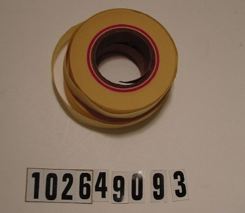 Custom college paper tape rolls