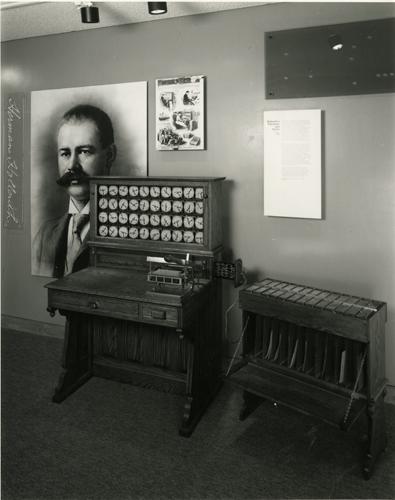 Hollerith 1890 Census machine | 102630714 | Computer ...
