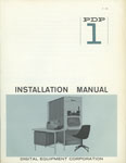 PDP-1 Installation Manual