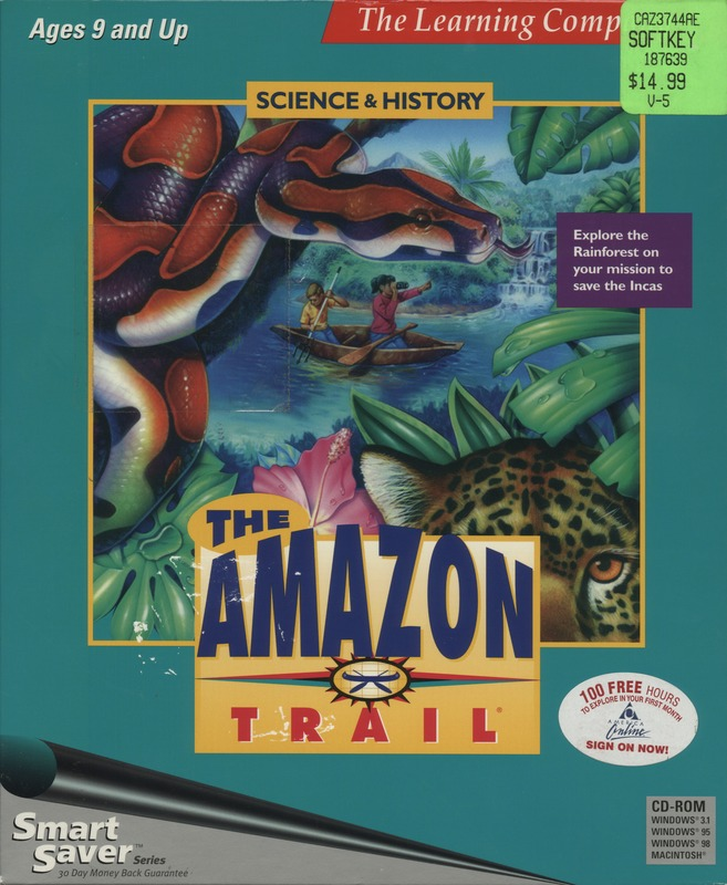 The Amazon trail | 102713581 | Computer History Museum