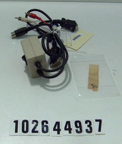 Commodore TV/monitor Switch
