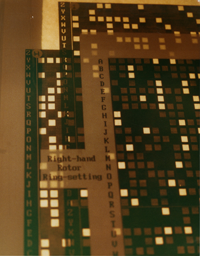 Decryption sheets similar to Zygalski sheets used to decipher ...
