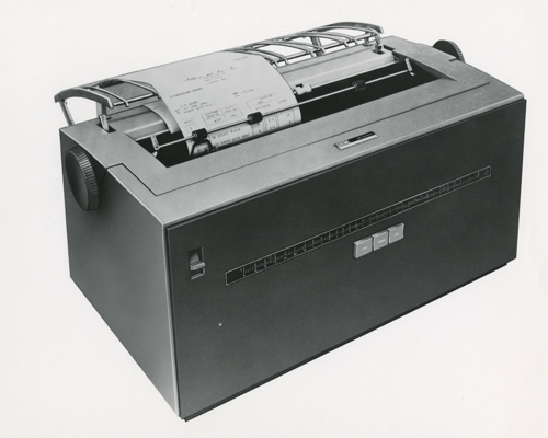 IBM 1053 printer   102634909   Computer History Museum