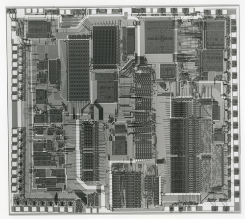 intel iapx 432 die shot 102652367 computer history museum