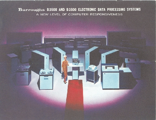 Burroughs B2500 And B3500 Electronic Data Processing